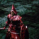 Dark Souls - röd rustning